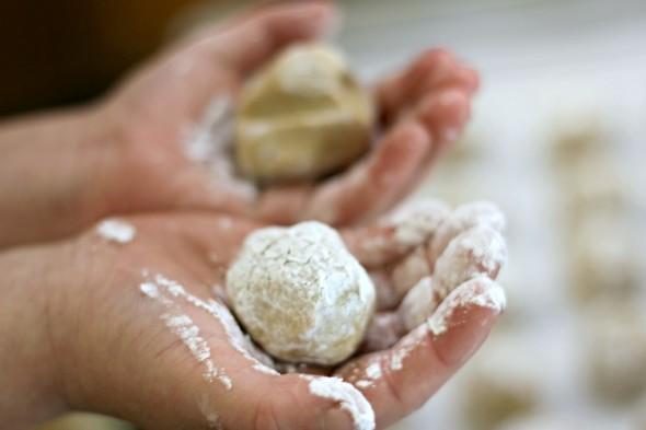 Asher Rolling Peanut Butter Balls