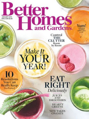 {Expired!} Free 1 year subscription to Better Homes and Gardens