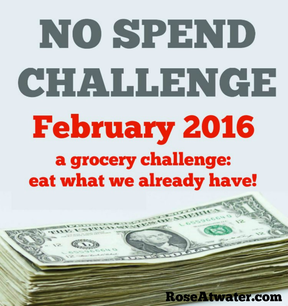 No Spend Challenge Feb fb