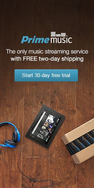Free 30 day trial to Amazon Prime Music