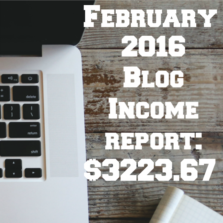 Blank Blog Income Report Feb Sq
