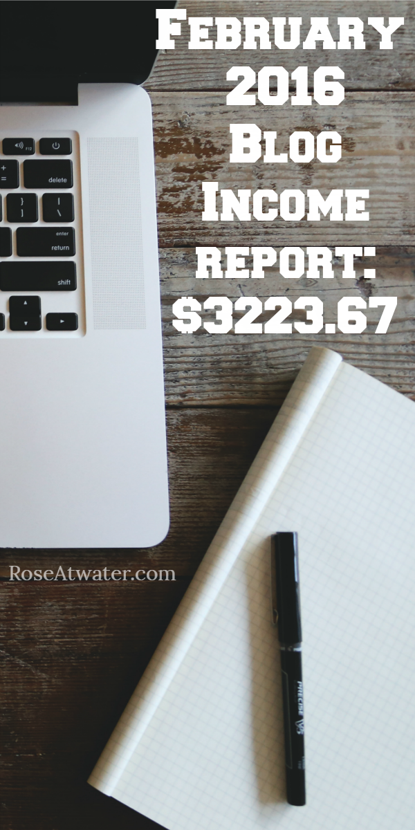 February Blog Income Report – $3223.67