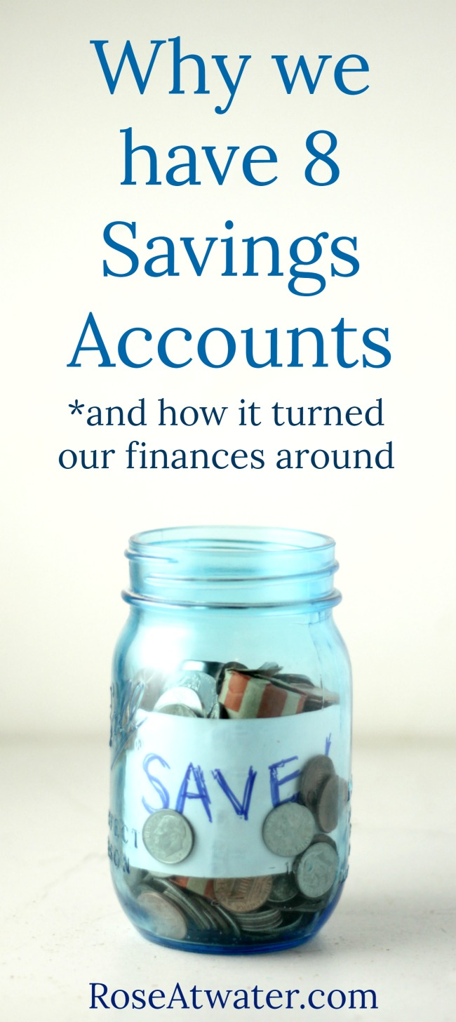 Why We Have 8 Savings Accounts And How That Turned Our