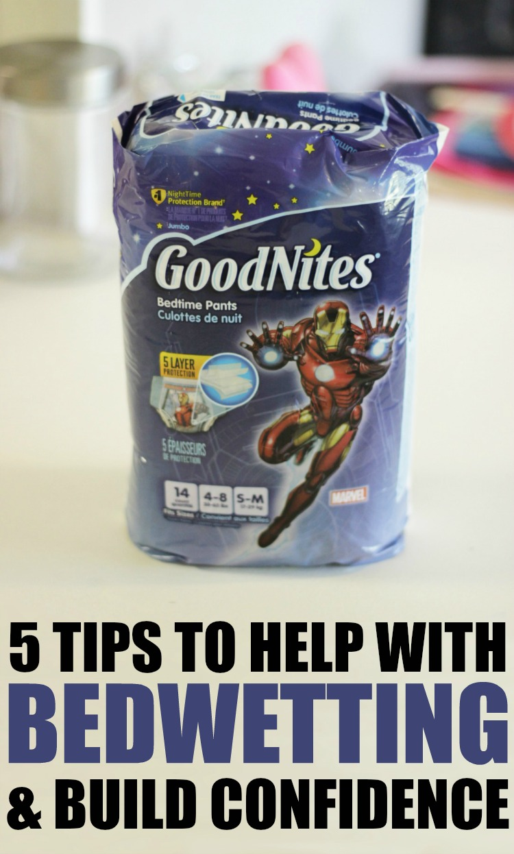 Goodnights - 5 Tips to help with Bedwetting & Build Confidence at RoseAtwatercom
