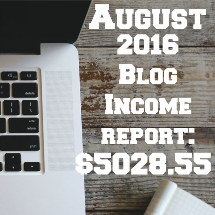 August 2016 Blog Income Report sq