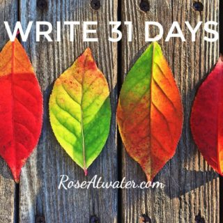 Write 31 Days – Day 22