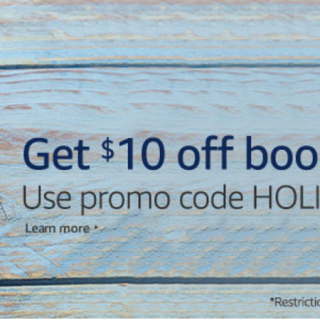 HOT DEAL: $10 off $25 of Books at Amazon!