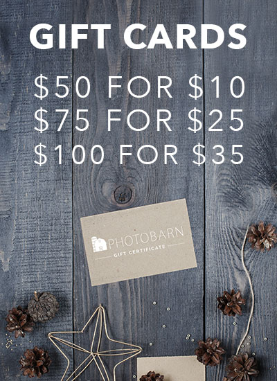 Photo Barn Gift Cards
