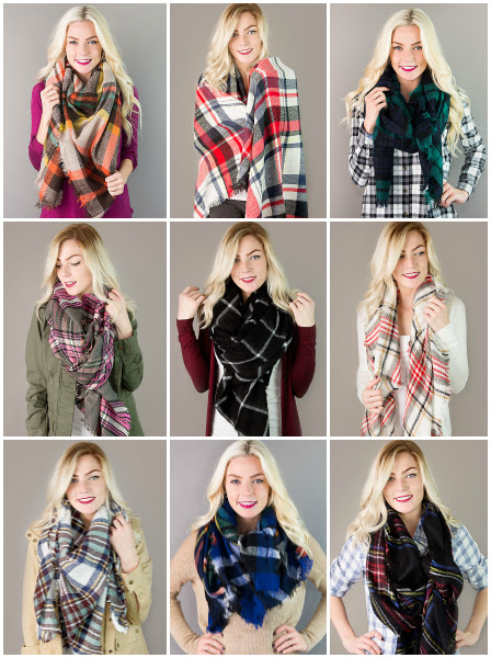 plaid-blanket-scarves