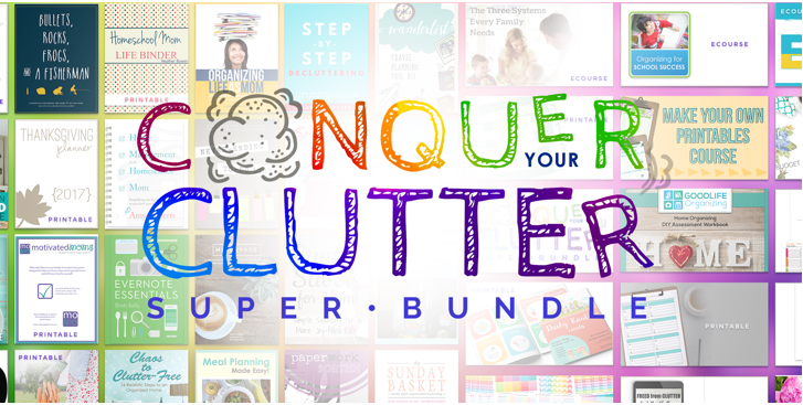 Conquer Your Clutter Bundle