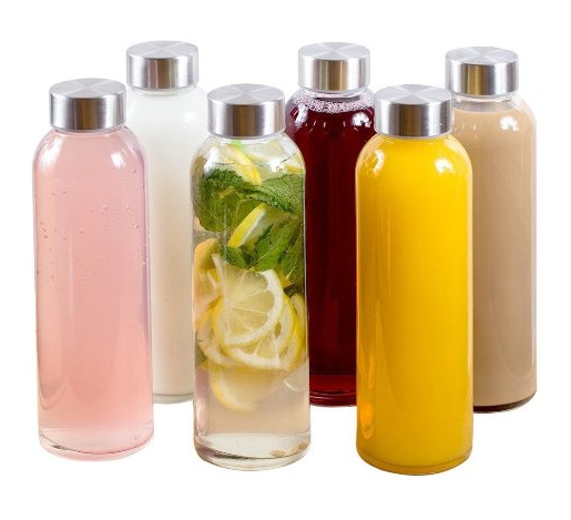 Estilo Glass Water Bottles