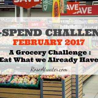 No-Spend Grocery Challenge {Days 18-21}