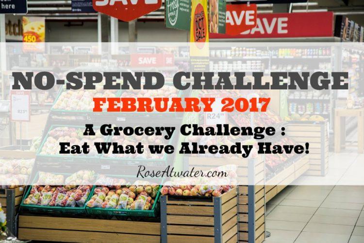 No Spend Challenge 2017